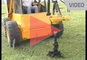 Shaver   Hydraulic Powered Post Hole Diggers