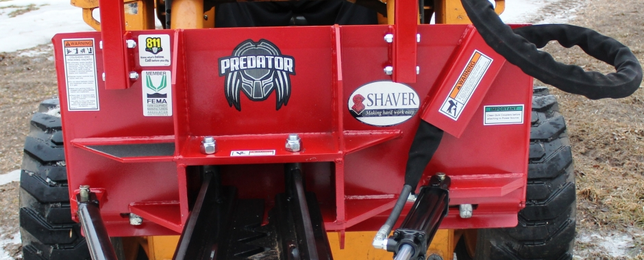 Shaver | Manufacturing quality attachments for Tractors and Skid